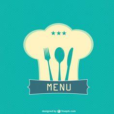 Plantilla de menú de restaurante gratuita Vector Gratis