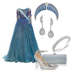 """Без названия #1331"" by svetlana-kazantsewa on Polyvore featuring мода, Georges Hobeika, Mark Broumand и Jimmy Choo"