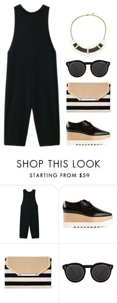 """Daytime Weariness"" by silhouetteoflight ❤ liked on Polyvore featuring PLAIN PEOPLE, STELLA McCARTNEY, Stella & Dot, Illesteva and ABS by Allen Schwartz"