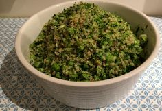Broccoli and Quinoa 'Rice' - Real Recipes from Mums