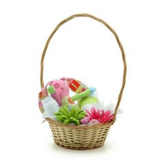 Willow Medium Round Basket W/Handle 27tdx19bdx10Hcm (10-BAS-002-141) | Oceans Floralspecialises in the development and wholesale distribution of creative floral and gift presentation solutions. Through providing outstanding customer service, and maintaining superior delivery standards, Oceans has a well-earned reputation as market leaders in New Zealand's floral and gift packaging industry. Wedding, Wedding DIY, Favour, gifts,Christmas,