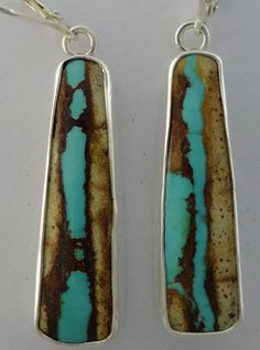 Royston Turquoise earrings  LOVE these.  Love Royston turquoise.