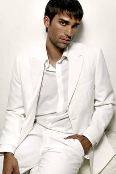 white suit Lionel Clerc model  Uploaded by user