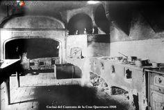Fotos de Querétaro, Querétaro, México: Cocina del Convento de la Cruz Hacia 1908