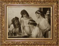 """Since they were children the Grand Duchesses had a luncheon with their parents, even if there were guests present. Their table manners were very good and they talked quite easily to strangers. Lady-in-waiting baroness Sophie Buxhoeveden wrote: """"They changed into romping clothes for the afternoon, but appeared again at tea time in their best frocks with their toys. Later the toys were replaced by needlework, for the Empress would never allow them to sit about idle."""