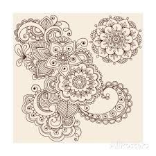 paisley henna patterns - Google Search