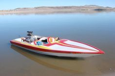 1972 Jet boat with 455 Olds Wooden Speed Boats, Wooden Boats, Fast Boats, Cool Boats, Drag Boat Racing, Car Places, Ski Boats, Vintage Boats, Boat Projects