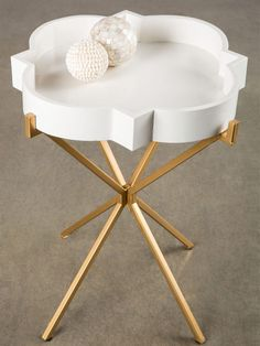 Joslyn Side Table by Statements by J at Gilt