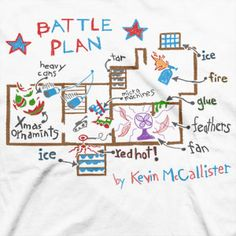 our home alone movie party decor homealone battleplan