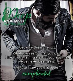 Deep (Stage Dive by Kylie Scott Deep Books, Good Books, Kylie Scott, The Way I Feel, Book Boyfriends, Book Series, Book Quotes, Teaser, Book Worms