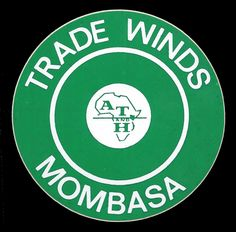 Mombasa Kenya, Trade Wind, Luggage Labels, Exotic Places, British Colonial, East Africa, Hotels, Vintage, Vintage Comics