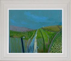 """Tim Woolcock """"Wicklow Mountains"""" Oil on board, x Tim Woolcock is a contemporary British artist, whose paintings, although abstract, find their inspiration in the landscape of both Ireland and England. Patrick Heron, English Artists, List Of Artists, Abstract Painters, Tapestry, Oil, Sculpture, Mountains, Contemporary"""