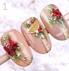 nail pots decor decor bathroom to sell face mask painting Cute Christmas Nails, Xmas Nails, Christmas Nail Designs, Holiday Nails, Seasonal Nails, Christmas Decor, Love Nails, Pretty Nails, Fun Nails