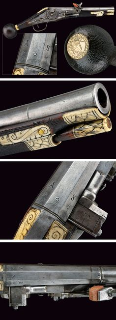 A trooper's puffer,  provenance: Saxony dating:  circa 1600