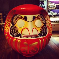 Wishful Daruma Doll, symbol of perseverance and good luck!
