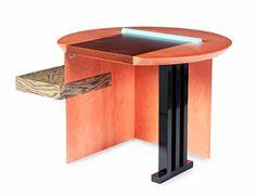 Sophia writing desk by Aldo Cibic 1985 - Memphis Milano