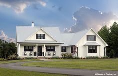 Home Plan The Coleraine by Donald A. Gardner Architects
