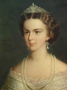 Elisabeth of Austria - Sissi. Empress consort of Austria; Apostolic queen consort of Hungary; Queen consort of Bohemia and Croatia