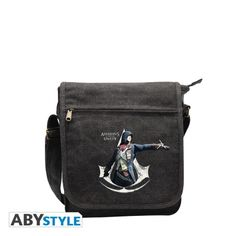 ASSASSIN'S CREED Sac Besace Assassin's creed Unity Crest Blanc Petit Format  http://www.abystyle.com/fr/sacs/1004-assassin-s-creed-sac-besace-assassin-s-creed-unity-crest-blanc-petit-format.html