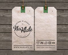 Design Clothing Labels Tags NaKlate clothing tags
