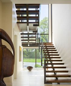 Point One Architects + Planners (POA) designed this contemporary home in Essex, Connecticut