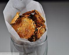 Baked Garam Masala Zucchini Chips