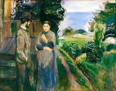 Edvard Munch,  Summer evening
