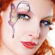 Maquiagem artística - borboleta