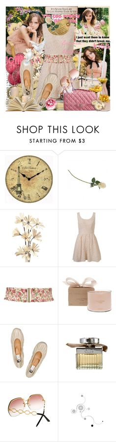 """""""The Up&Coming: Emma Watson"""" by stylerocking009 ❤ liked on Polyvore featuring Emma Watson, Pieces, Infinity Instruments, Goliath, Forever 21, Miss Selfridge, Calypso Perfume Prod Inc., Lanvin, Chloé and Chanel"""