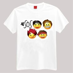 5SOS Emoji T Shirt i need this