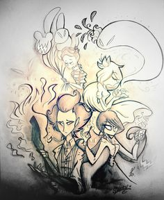 """one version two version ah ... I never cease to edit your picture))) gave inspiration playing """"Don't Starve Together"""" it was fun and a little scary :> &..."""