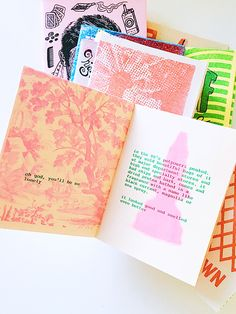 printed zines from los angeles art book fair / sfgirlbybay