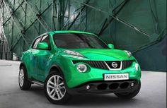 Nissan Yuke Green