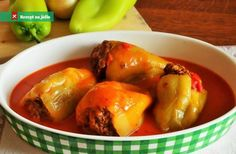 Discover recipes, home ideas, style inspiration and other ideas to try. Stuffed Peppers, Chicken, Meat, Vegetables, Recipes, Food, Places, Pigs, Essen