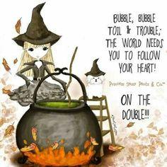 Princess Sassy Pants & Co. Halloween Quotes, Halloween Cards, Holidays Halloween, Happy Halloween, Halloween Ideas, Halloween Night, Halloween Stuff, Toil And Trouble, Princess Art