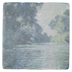 Branch of the Seine near Giverny, 1897 Stone Coaster