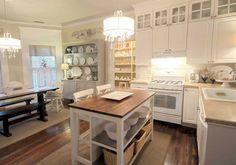 Gorgeous farmhouse kitchen inspiration (4)