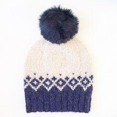 Ravelry: Kongvinterlue / Father Frost Hat pattern by Strikkelisa Baby Knitting Patterns, Face Brightening, Ravelry, Frost, Knitted Hats, Knitwear, Winter Hats, Father, Beanie