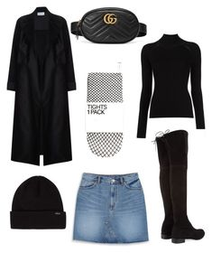 """Less is more"" by varvara2v on Polyvore featuring мода, Monki, Stuart Weitzman и Gucci"