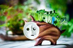 岡本太郎「犬の植木鉢」