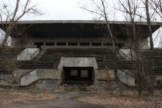 Abandonado Avanhard Estadio de Pripyat - Pryp'yat ', Ucrania - Atlas Obscura