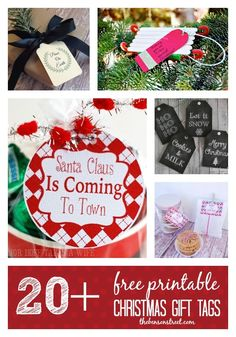 Out of gift tags? Pr