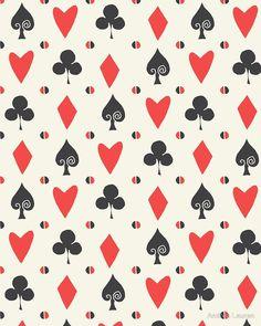 Hearts Clovers alice in wonderland fairy tale minimal kids nursery pattern pink and green iPhone 11 case