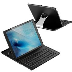 4a3f2ad0f5e iPad Pro Keyboard, JETech Wireless Bluetooth Keyboard Case for Apple iPad  Pro with Multi-Angle Stand - 2015