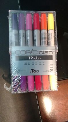 Just got my Copics in from the mail! Myvoarent bought them did me for my birthday
