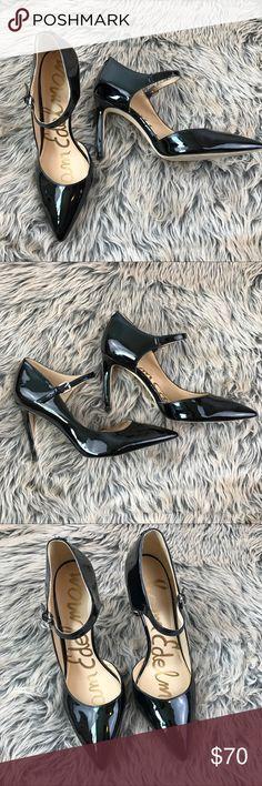 Sam Edelman Nora Half d'Orsay Pump Heels Patent Sam Edelman Women's Nora Half d'Orsay Pump Heels Patent Black Size 9 Career   Stunningly sexy shoes. Gently worn. Tagged size 9.   Please see photos. Ask any questions before purchasing. Sam Edelman Shoes Heels