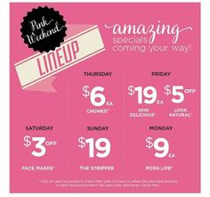 Great deals going on... Order through my event for a free gift