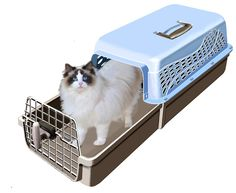 7a9407bb16 MagiCarrier by K-Kat: A Cat Carrier That Makes It Easy to Get the Cat In