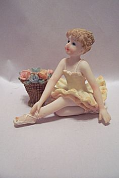 Porcelain Little Ballerina Figurine