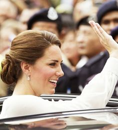 Kate Middleton: her grace and beauty.